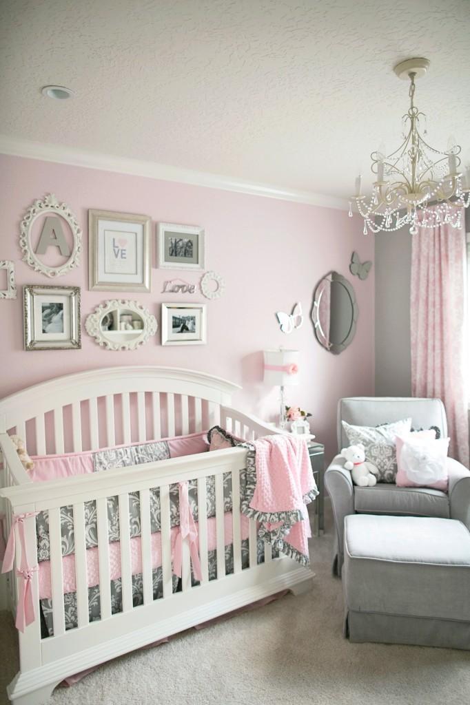 benjamin moore pink bliss baby nursery