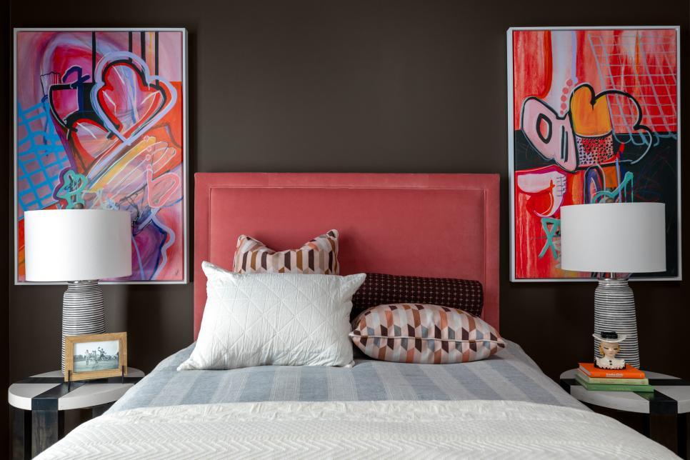 urban and edgy teen bedroom