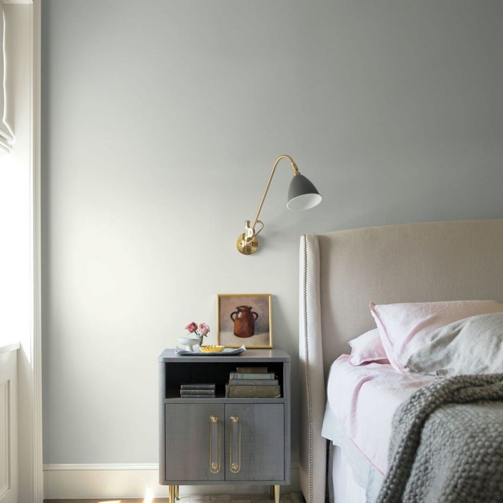 Best Gray Paint Colors for Bedroom - Interiors By Color