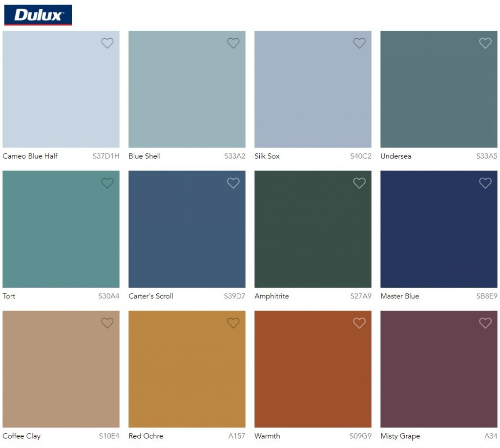 Dulux Paint Color Trend 2020 Comeback