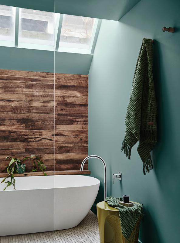Dulux Paint Color Trend 2020 Green bathroom