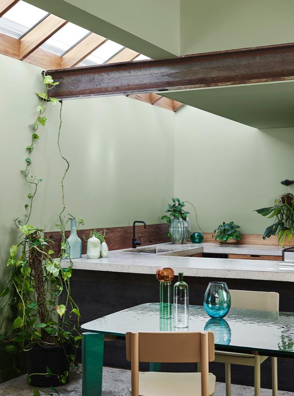 Dulux Paint Color Trend 2020 Green kitchen