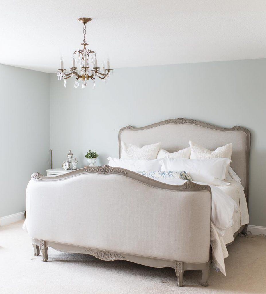 benjamin moore Stonington Gray bedroom paint color