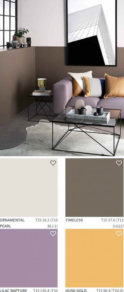 Taubmans Paint Industrial Color Scheme Living Room