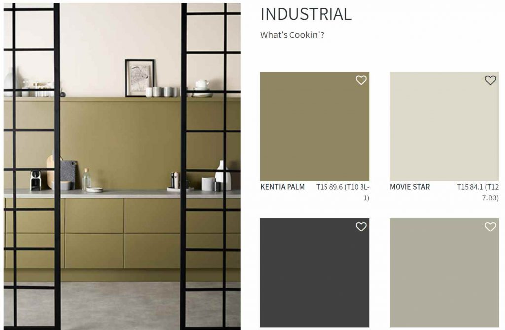 Taubmans Paint Industrial Color Scheme Kitchen