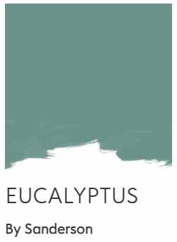 Sanderson Eucalyptus green paint color
