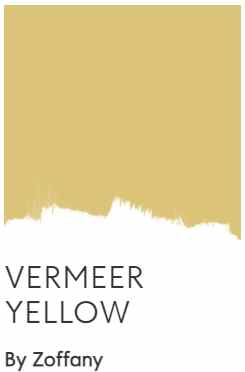 Zoffany Vermeer Yellow