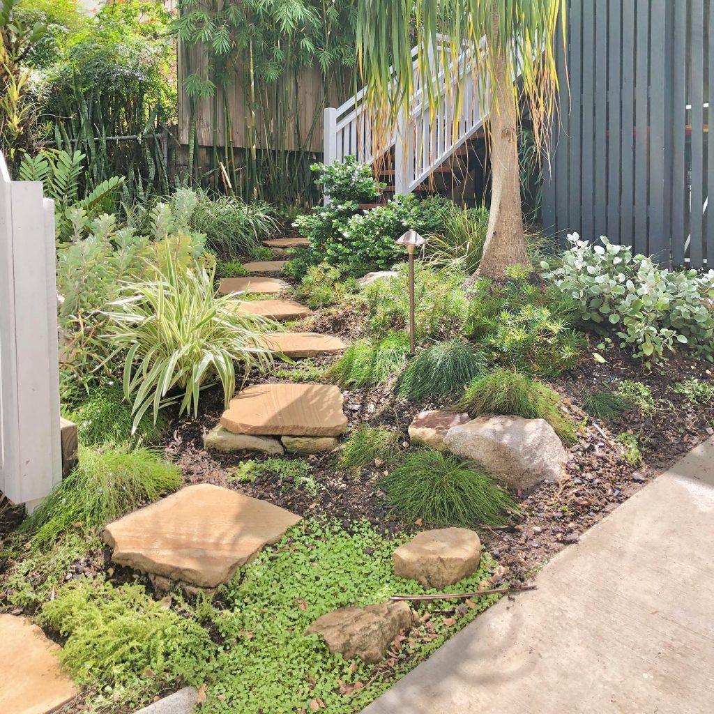 Garden path ideas sandstone