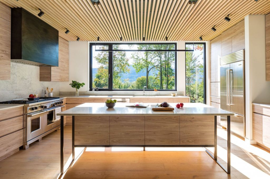Modern farmhouse kitchen decor design idea