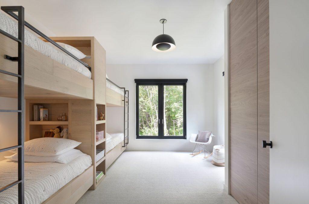 Pod bunkbed idea for children's bedroom