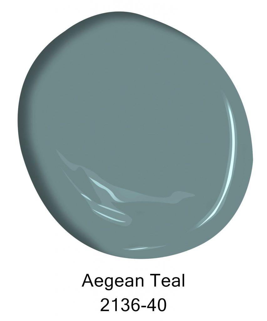 Benjamin Moore Aegean Teal