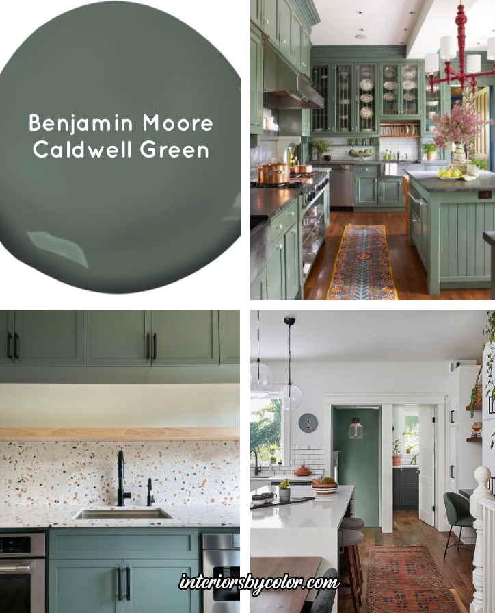 Benjamin Moore Caldwell Green
