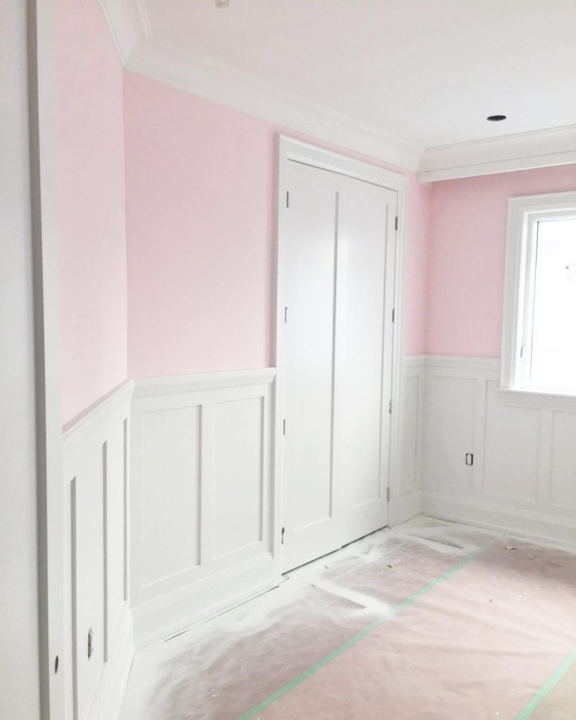 Benjamin Moore Elephant Pink paint color