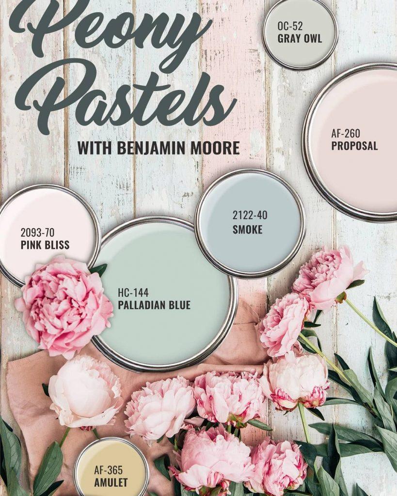 Benjamin Moore Pastel Colors