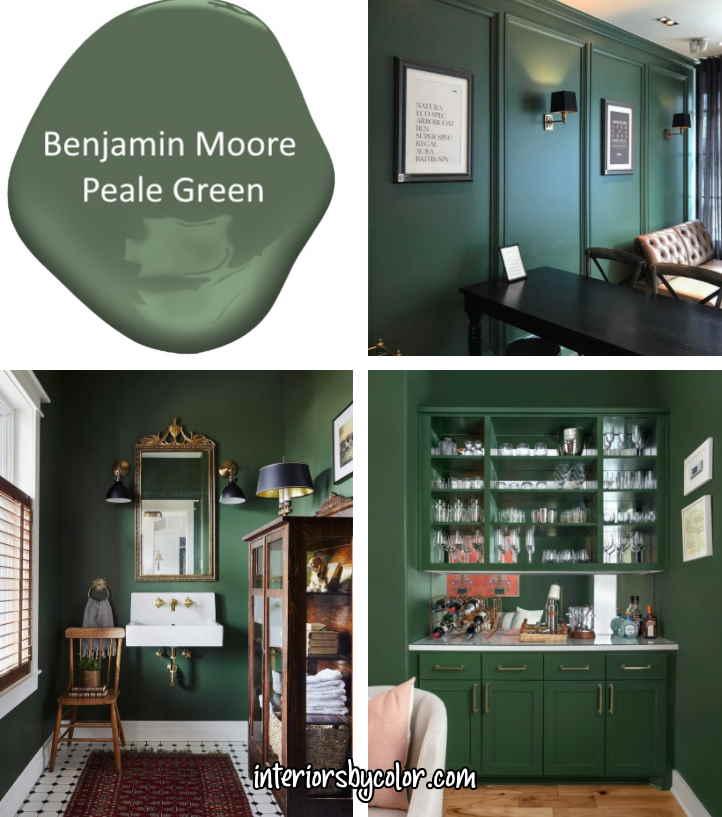Benjamin Moore Peale Green interior paint color