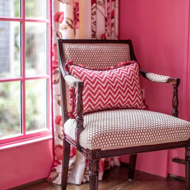 Benjamin Moore Pink Starburst wall paint