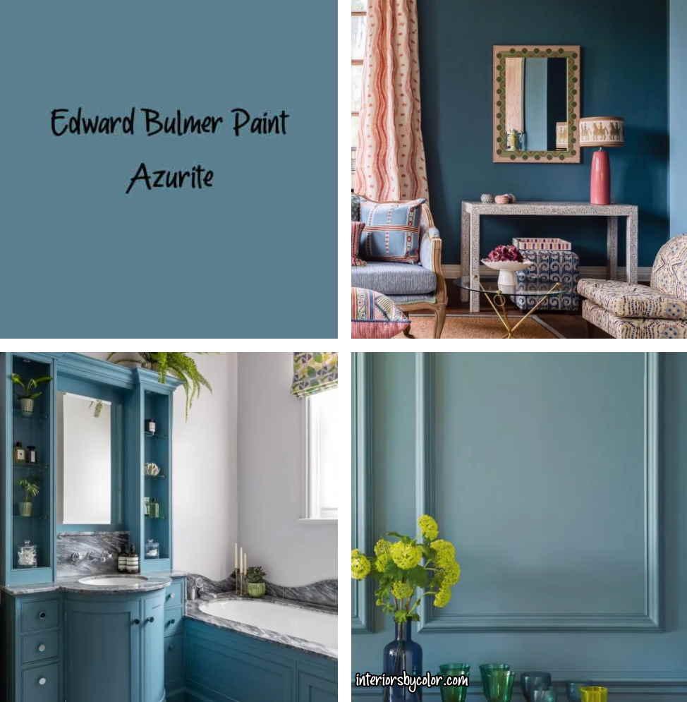 Edward Bulmer Paint Azurite blue