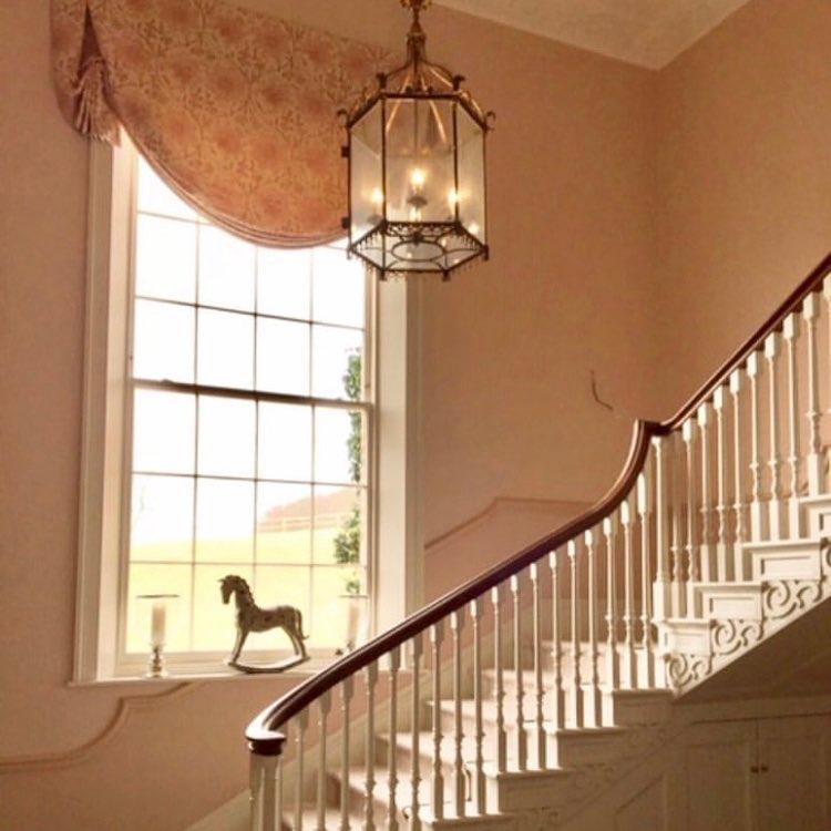 Edward Bulmer Paint Jonquil staircase