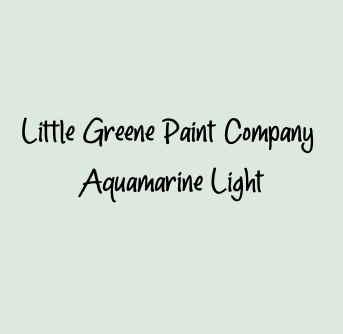 Little Greene Paint Company Aquamarine Light