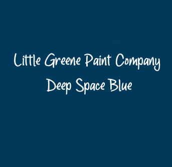 Little Greene Paint Company Deep Space Blue