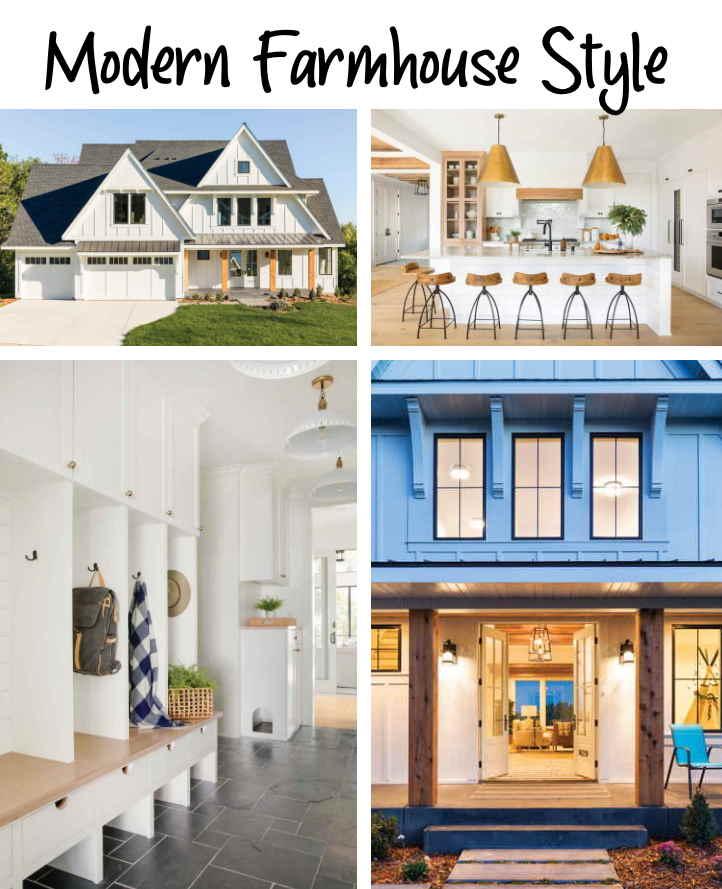 Modern farmhouse style house tour