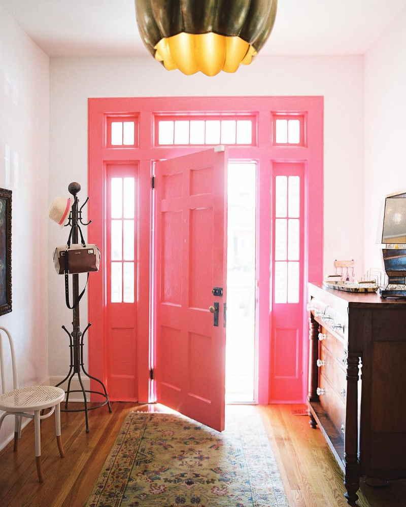 Pink Paint Colors for Front Door Benjamin Moore Pink Popsicle