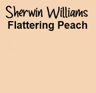 Sherwin Williams Flattering Peach