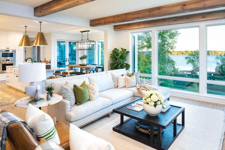 living room farmhouse