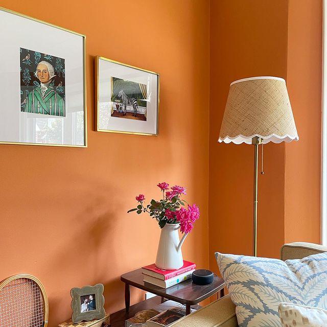 Benjamin Moore Orange Blossom