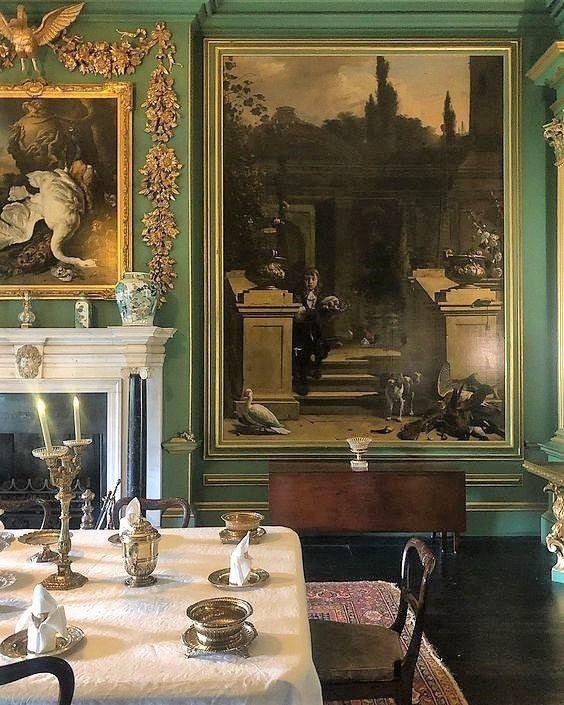 Old World Green Interiors
