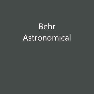 Behr Astronomical