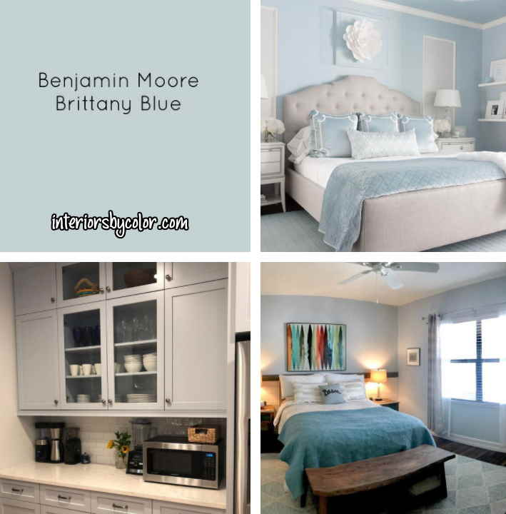 Benjamin Moore Brittany Blue paint color