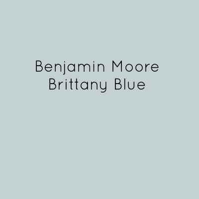 Benjamin Moore Brittany Blue