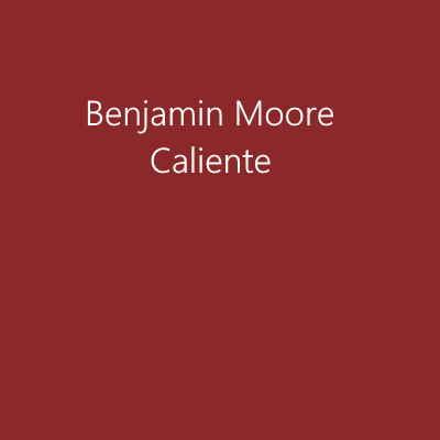 Benjamin Moore Caliente