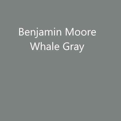 Benjamin Moore Whale Gray