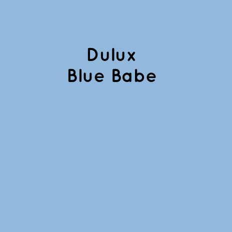 Dulux Blue Babe