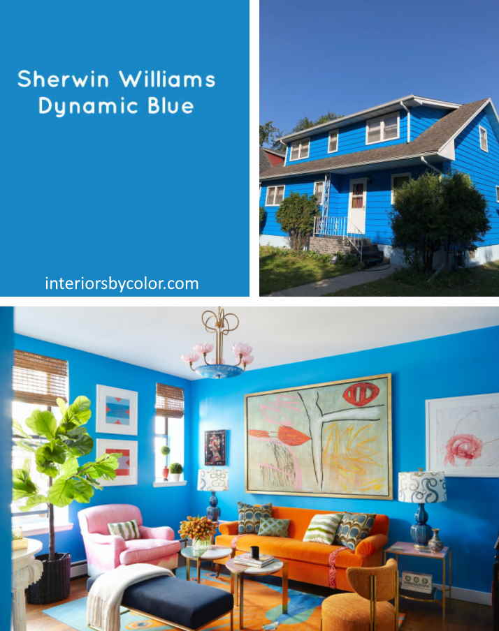 Sherwin Williams Dynamic Blue Paint Color