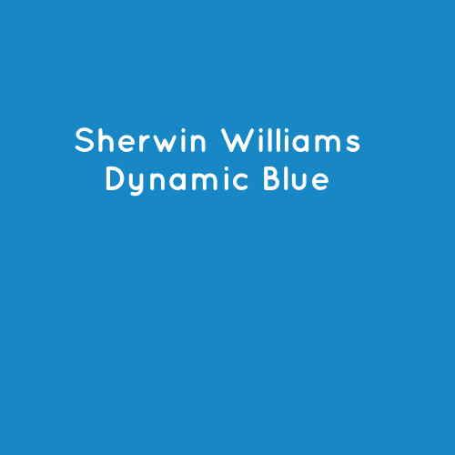 Sherwin Williams Dynamic Blue