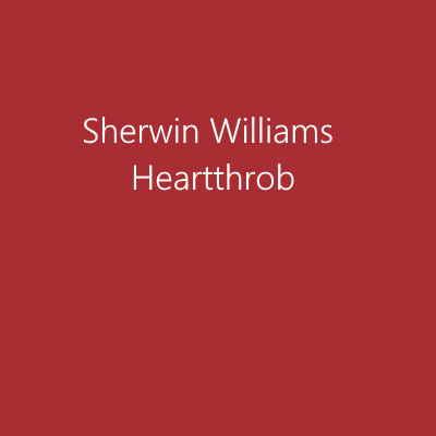 Sherwin Williams Heartthrob