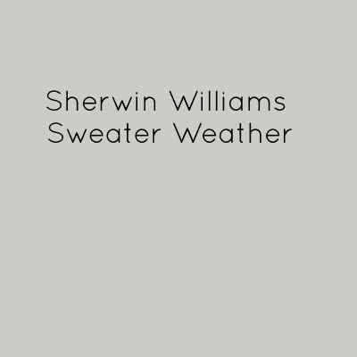 Sherwin Williams Sweater Weather